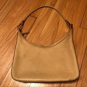 Gucci Tan Shoulder Bag Bad Condition